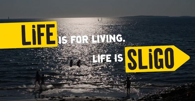 Go Strandhill - Life-is-Sligo Campaign