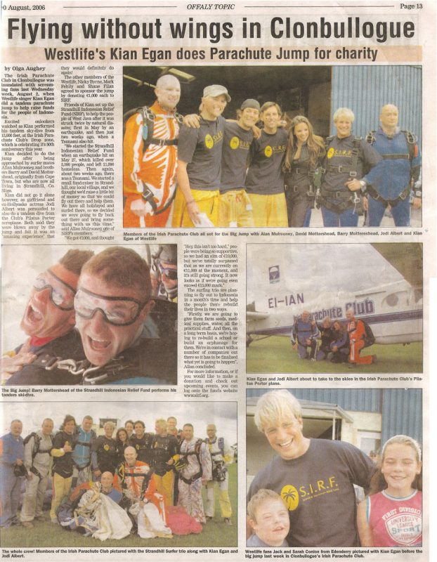Go Strandhill - SIRF Media Coverage